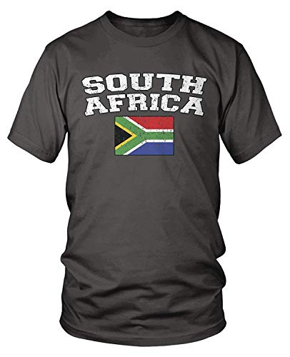 Kostüm Wales South - Men's South African Flag, Flag of South Africa T-Shirt XXXL