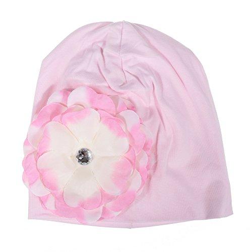 Five Season bébé Fleur Rose Chapeau Infant Cap nouveau-né Cotton-2
