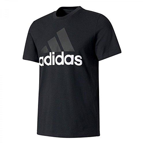 Adidas S98731, T-Shirt Uomo, Nero, XX-Large (Taglia Produttore:2XL)