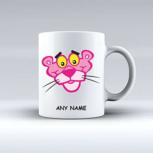 Personalised Pink Panther Mug