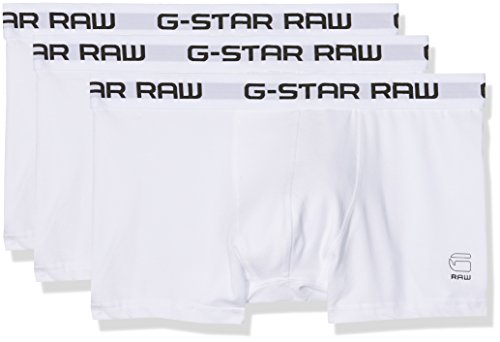 G-STAR RAW Men's Classic Trunk Boxer Shorts Pack of 3