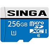 SINGA 128GB Micro SD Card High Speed Class 10 Micro SD SDXC Card TF Memory Card With SD Adapter