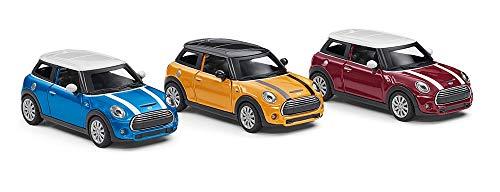 Mini Original Cooper S Pull Back - Modellino Auto in Miniatura, Scala 1:36, Collezione 2018/2020
