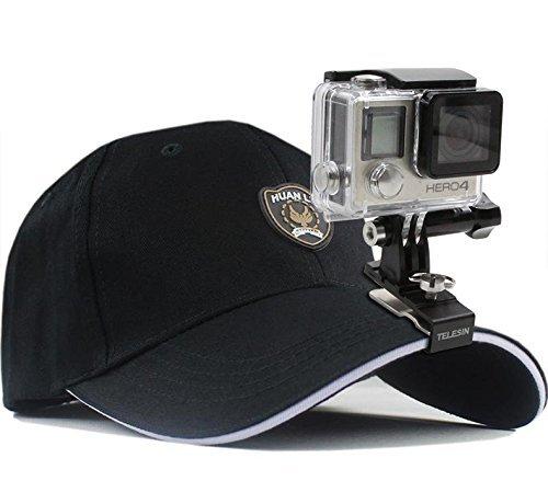 TELESIN Universal Muti-Functional Quick Release Schnalle Rucksack Clip, 360Grad Rucksack Clip, trinkbar Hat Clip -