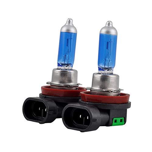 2pcs h11 12v 55w Lampes Ultra Lumineuses de tête de Voiture d'ampoule halogène de Brouillard Ultra Blanc