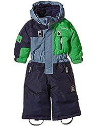 Kamik Zoom-Suit - Mono para niños, otoño/invierno, niño, color multicolor - Fern, tamaño 18 meses (86 cm)
