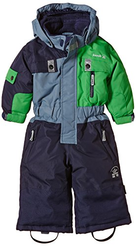 Kamik Jungen Overall Zoom-Suit, Mehrfarbig (Green/Navy/Fern), 86, KWB2566