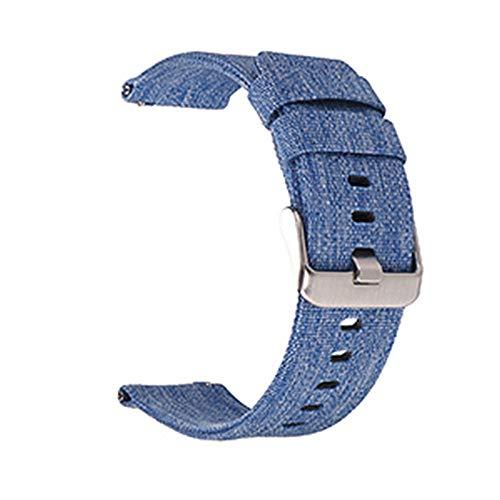 Henziy Smart Atmungsaktiv gewebtes Nylon-Uhrenarmband Uhrenarmbänder Watch Band Leichte Canvas-Uhrenarmband Uhrenarmbänder Watch Band 22mm 24mm -