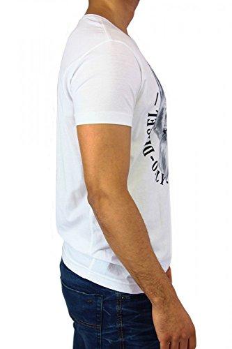 Diesel Herren T-Shirt T-Joe-NN T-Shirt Weiß - weiß