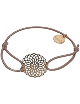 lua accessories Damen Armband Sun gold
