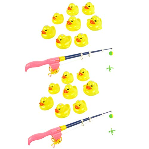 Ysoom Baby Badespielzeug, Wasserspielzeug, 16 teilig Baby Magnetische Enten Tiermodell Angelnspiel Wasserspielzeug für 3 4 5 Jährige Kind Baby Kleinkind Jungen Mädchen Magnet Spielzeug (Badewanne Spielzeug Für 4 Jährige Mädchen)