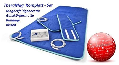 NEU: Magnetfeld-Therapie THERAMAG PROFI Magnettherapie / Magnetfeldtherapie inkl. Steuergerät und Stoffmatte günstig (Stoffmatte + Steuergerät + Manschette)