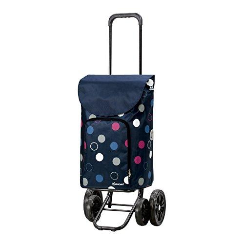 Andersen Shopper Quattro und 41 Liter Tasche Kira blau mit Kühlfach