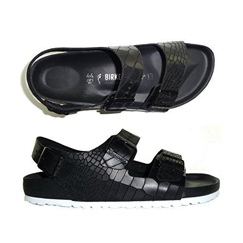 Birkenstock , Sandales pour femme noir noir 35.0 R CROCO BLACK