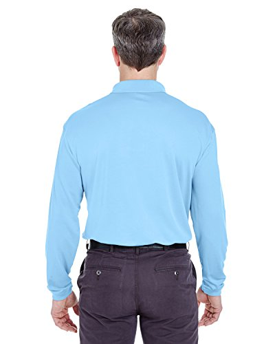 UltraClub Herren Poloshirt ColumBlue