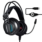 Best TeckNet gaming headset - PC Gaming Headset, XIBERIA V10, USB Surround Sound Review