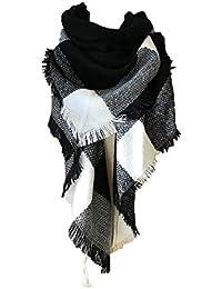 15621d3d3905 UMIPUBO Femme Longue Écharpe Châle XXL Écharpe Chale Femme Cachemire Chaud  Automne Hiver Grand Plaid Tissu