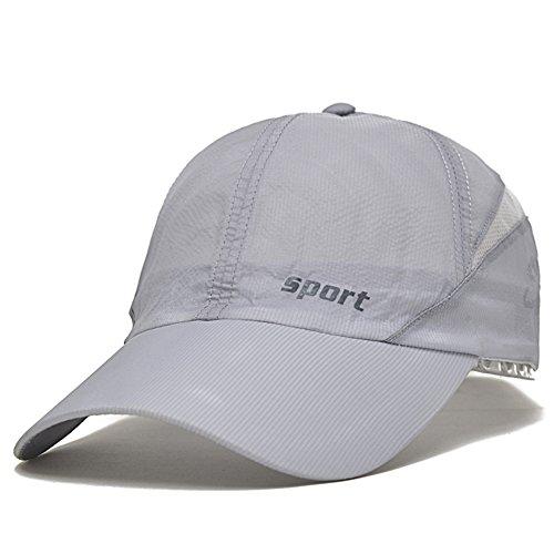 Berretti uomo estivi/Cappelli outdoor/Cappelli da sole SPF/Berretto da baseball/Rapido e asciutto della maglia cappuccio/Sport caps-B