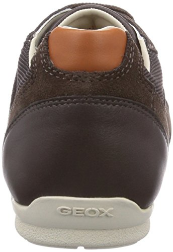 Geox U HOUSTON A Herren Sneakers Braun (Chestnutc6004)