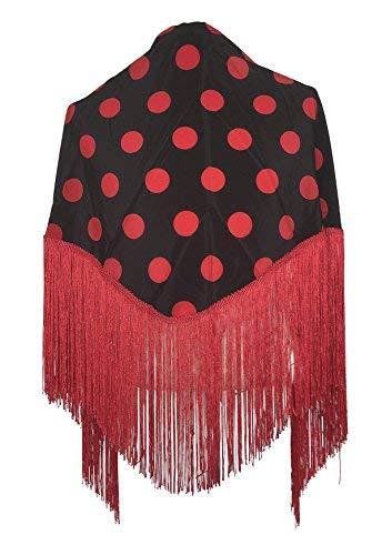 facae9ac5ee20c Gebraucht, La Señorita Spanischer Manton, Tuch /Schal schwarz gebraucht  kaufen Wird an jeden