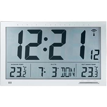 Oregon scientific horloge murale jumbo large ecran avec for Star meteo probleme temperature exterieur