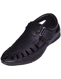 Sukun Black Loafer Casual Shoes