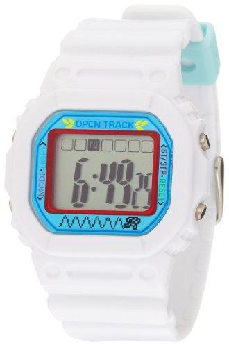 spencer-unisex-0t01wht-open-track-digital-white-armbanduhr