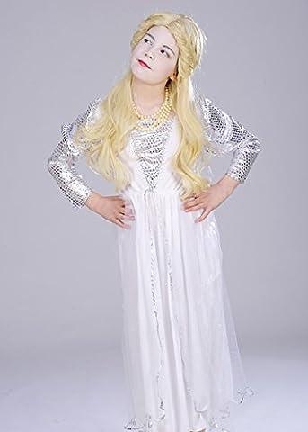 Alice In Wonderland Costume Taille 10 - Enfants le Costume de Style reine blanche