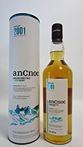 AnCnoc Non Chill Filtered Single Malt 2001 Scotch Whisky, 70 cl from Knockdhu