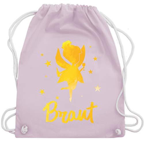 JGA Junggesellinnenabschied - JGA Fee - Braut - Unisize - Pastell Rosa - WM110 - Turnbeutel & Gym Bag