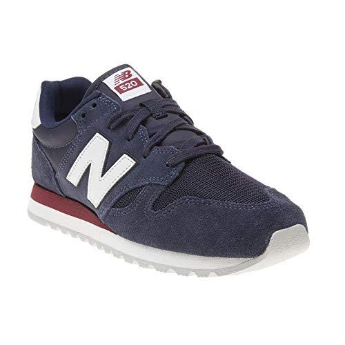 New Balance U520-D Sneaker blau/weiß, 11.5 US - 45.5 EU - 11 UK New Navy Schuhe