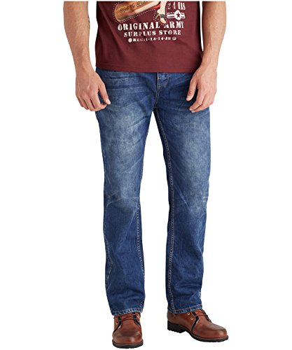 Joe Browns Herren Jeans Easy Day Bright Blau