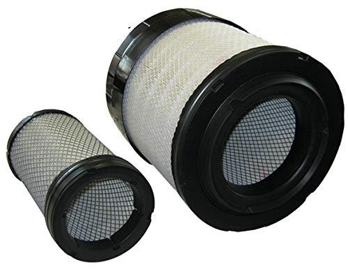 Filtro de aire con cartucho de seguridad para Ford New Holland, ref   87517153, 87517154