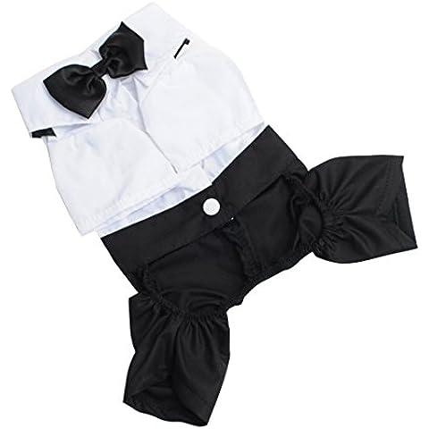 Moon mood® Ropa de Perro Perrito Gato Halloween Costume Ropa para Mascotas Ropa de Vestir - Suministros para