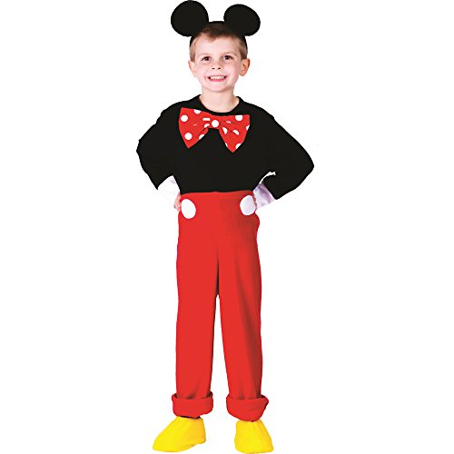 Dress Up America Charming Herr Maus Kostüm für Kinder, Alter 3-4 (Deluxe Kinder Mickey Mouse Kostüme)