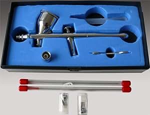 Aerographe Pistolet Peinture Airbrush-Kit Spray-Gun Air-Brush BD-320