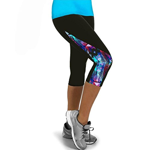 5c45424a98f1 Styledresser Sconto Leggings Yoga Fitness 3/4 Slim Fit, Pantaloni da ...