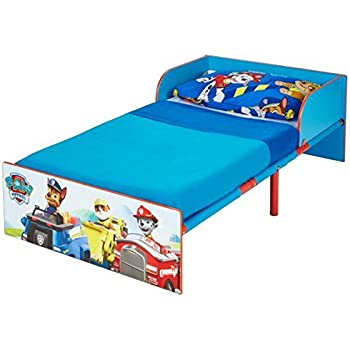 Paw Patrol Kids Toddler Bed by HelloHome. Paw Patrol Kids Toddler Bed by HelloHome  Amazon co uk  Kitchen   Home