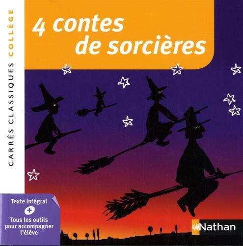 4 contes de sorcières par Anthologie