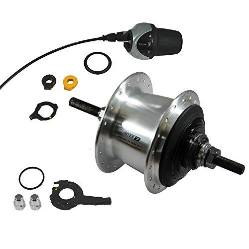 Taylor-Wheels Nabe Hinterrad Nabenschaltung Shimano Nexus 7 SG-C30007R Freilauf 36 Loch Silber