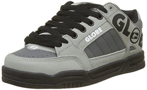 Globe Jungen Tilt Skateboardschuhe, Mehrfarbig (Grey/Black/Red), 37 EU (Kinder Globe Schuhe)