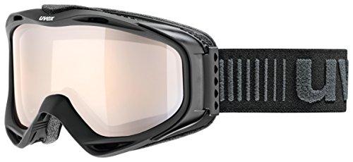 Uvex g.gl 300 VLM Skibrille, Black mat, One Size