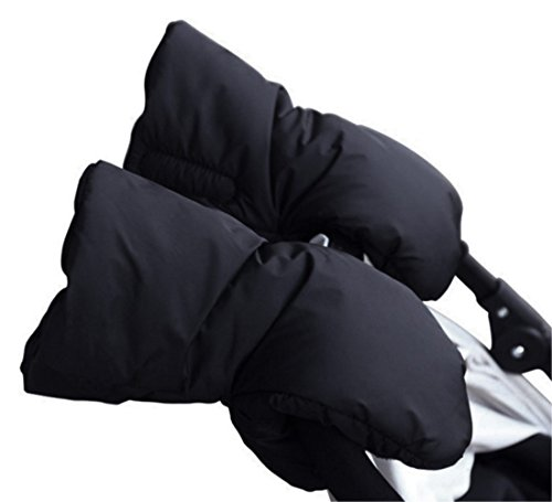 Baiter Poussette chaud Gants Poussette Main Manchons Hiver Bébé Poussette accessoire de coupe-vent antigel Main Coque