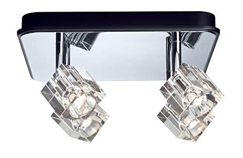 Paulmann Spotlights IceCube LED Balken 4x3W Chrom 230V