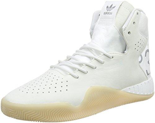 adidas Tubular Instinct, Formatori Uomo Bianco (Colored Reflective/crystal White/ftwr White)