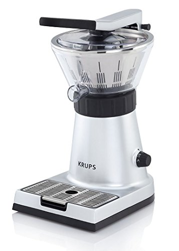 Krups ZX700041 Presse Agrumes Électrique Express 130W Jus Orange Citron Pamplemousse Extracteur...