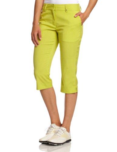 Calvin Klein golf Ladies Cropped Check Trouser White/Blue - Damen 3/4 Hose weiß/blau Weiß  Preisvergleich
