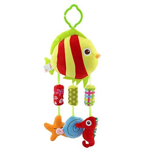 Del giocattolo del bambino sonaglio I neonati ei bambini piccoli tornio appendere campanelli eolici appeso giocattoli giocattolo letto peluche for placare Può essere usato come un bambino lenitivo