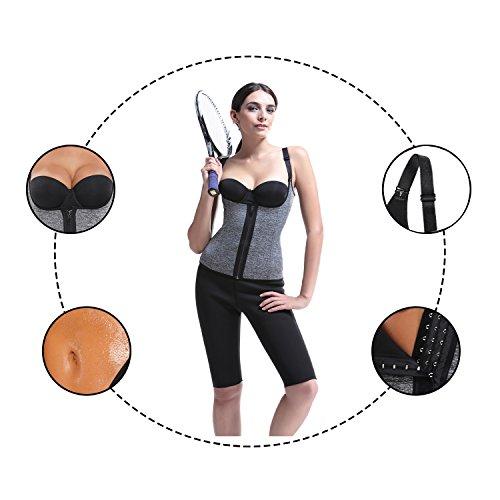 Zoom IMG-3 nheima corsetto dimagrante canotta fitness