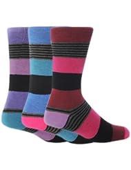 Chaussettes rayées (lot de 3 paires) - Homme